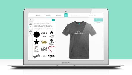 Änderung: Anzeige Deiner Designs im Selbst-Gestalten-Bereich