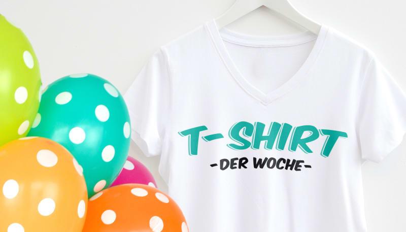 Mach Dein Design zum T-Shirt der Woche