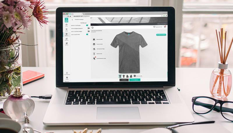 Nouveauté du SpreadShop – Intégration possible du T-shirt Designer