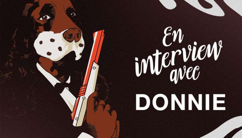 En interview avec Donnie