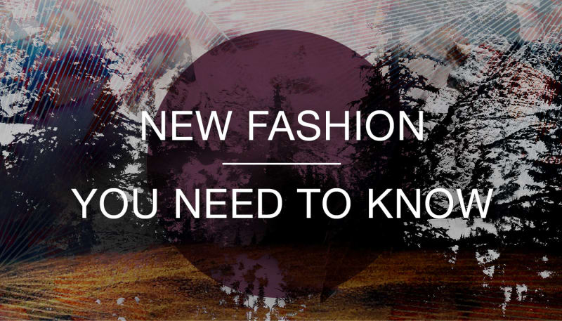 New! Trending colours, Designs & Fashion