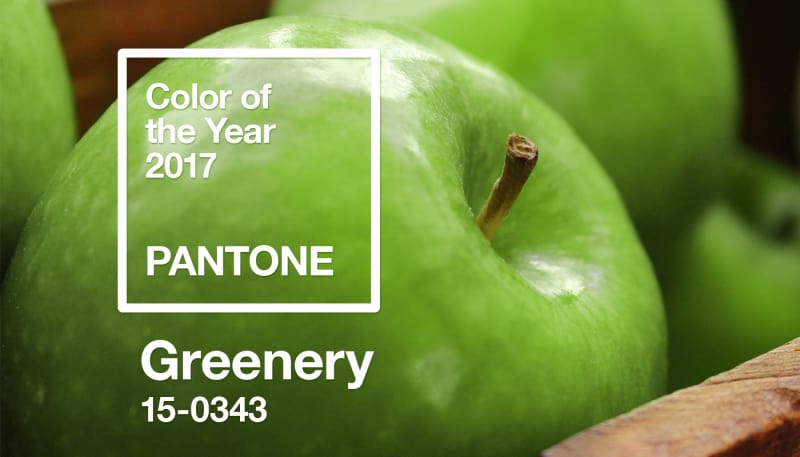 Your Designs and Pantone's Colour of the Year: Greenery