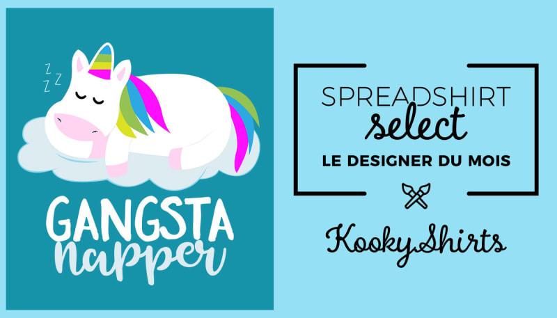 Spreadshirt Select– Le designer du mois: KookyShirts