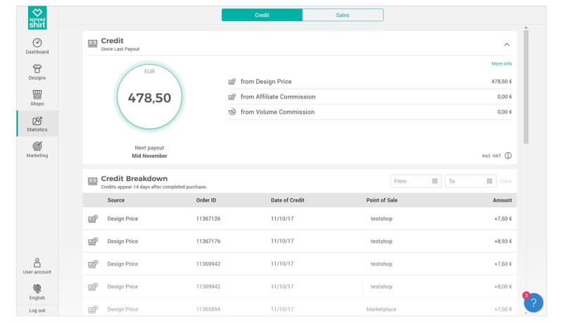 Neuer Nutzerbereich: Deine neue Statistikübersicht