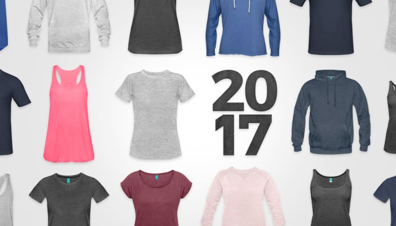 Shops: Die meistverkauften Produkte und Farben 2017