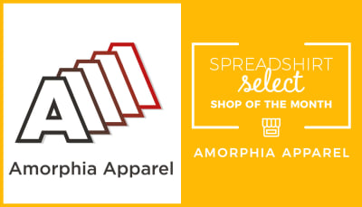 Spreadshirt Select Shop of the Month: Amorphia Apparel