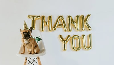 En un mot : merci !