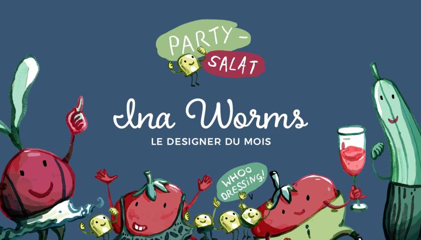 Le designer du mois: Ina Worms