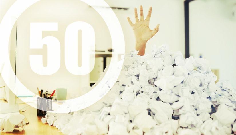 50 Designs täglich: Upload-Limit wird angepasst