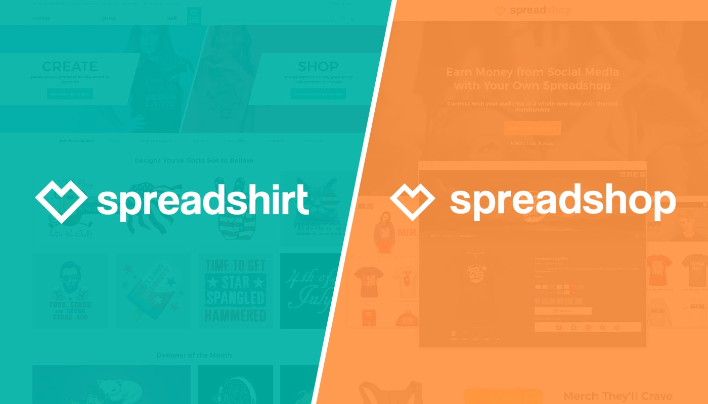 Spreadshop vs Spreadshirt