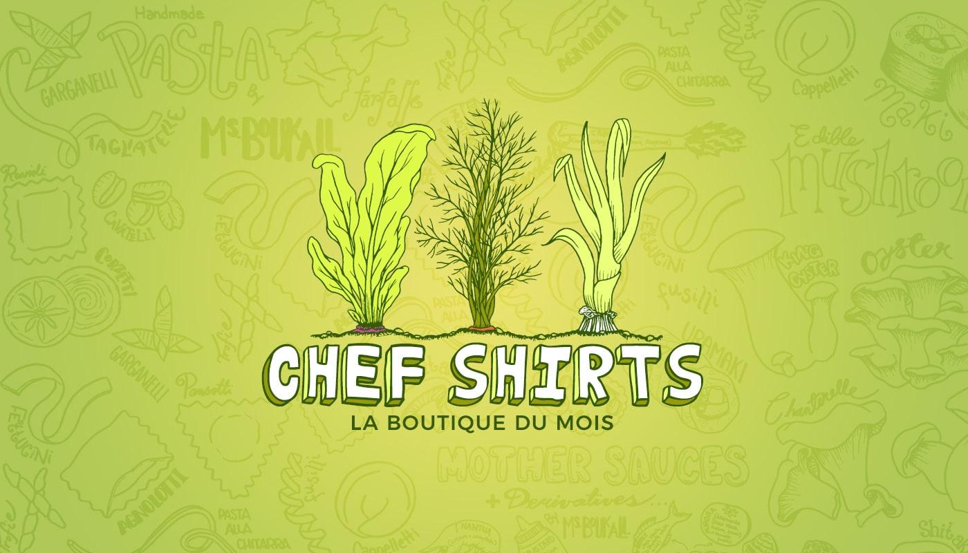 La boutique du mois d'octobre: Chef Shirts