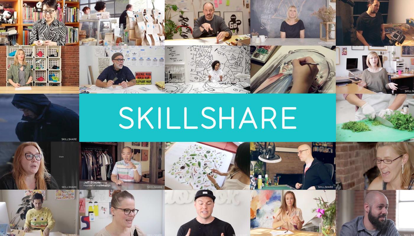 Lernen und lernen lassen mit Skillshare