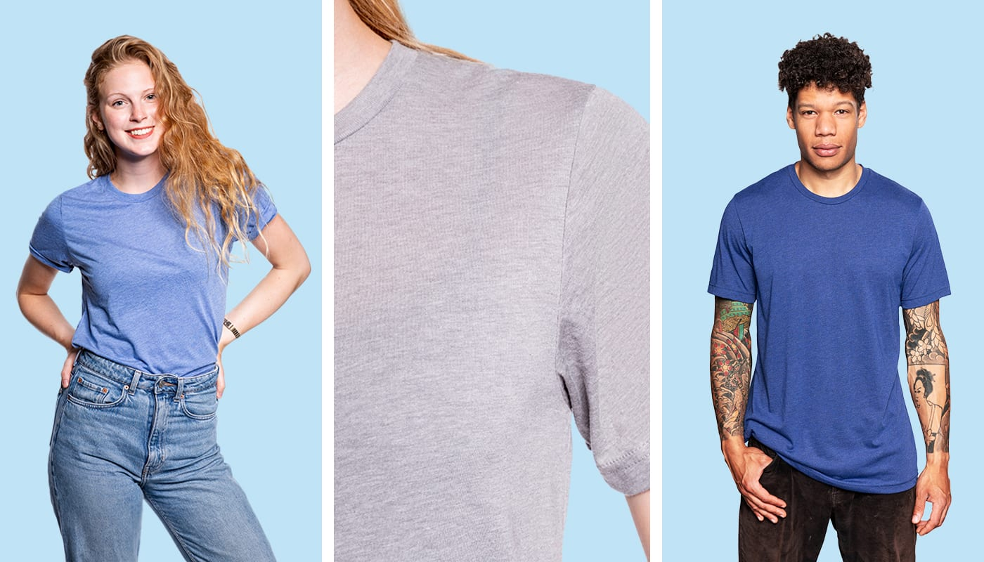 NEW: Unisex Tri-Blend T-Shirt (North America & Oceania)