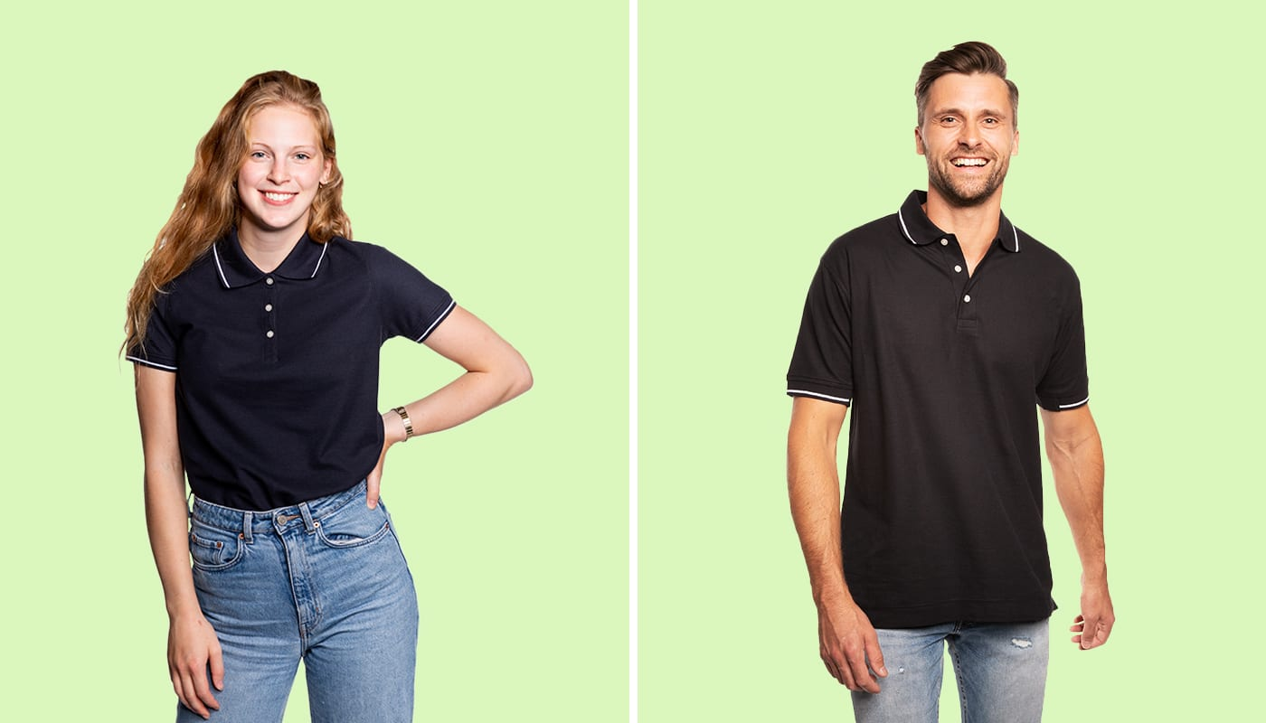 NEW: Tipped Polo Shirts (North America & Oceania)