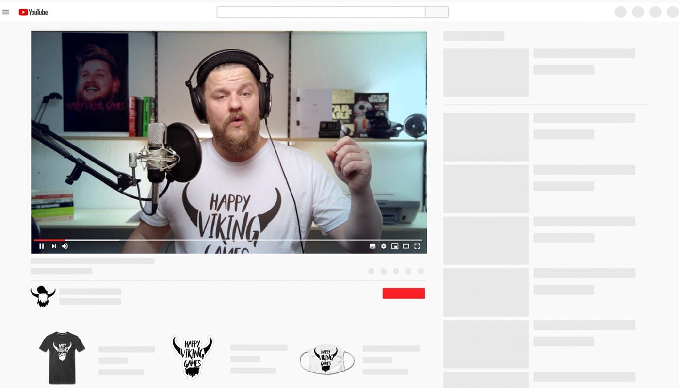 YouTube x Spreadshop Presents: Merch Shelf