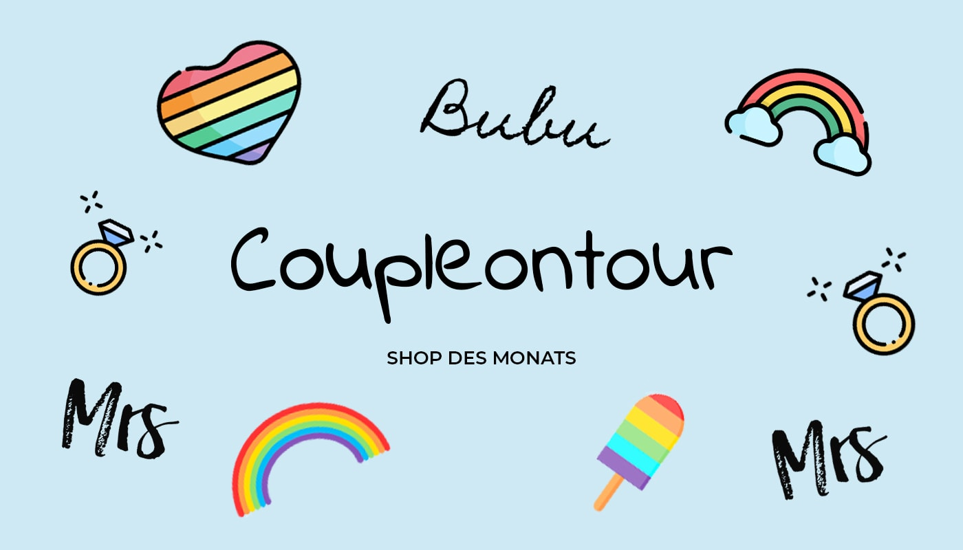 Unterwegs im Namen der Liebe: Shop des Monats Coupleontour