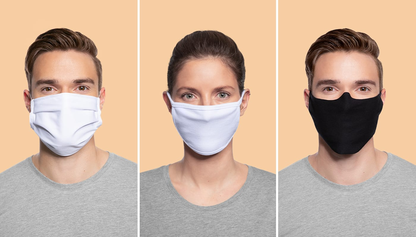 New Face Mask Model Images