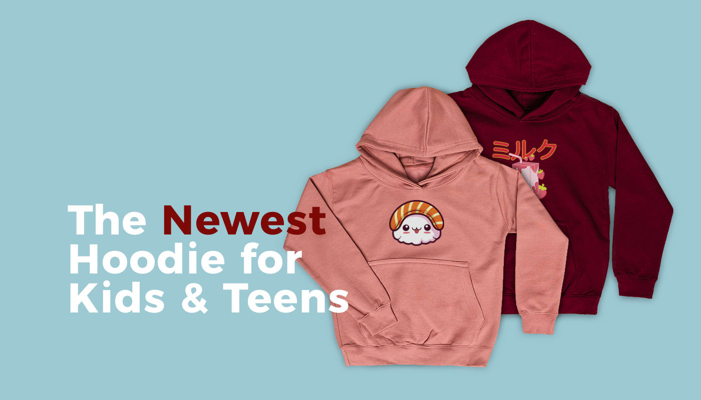 NEW: Standard Hoodie for Kids and Teens (Europe)