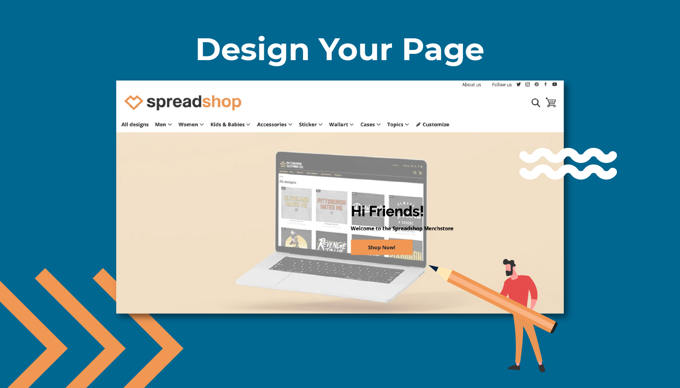 Design Your Page