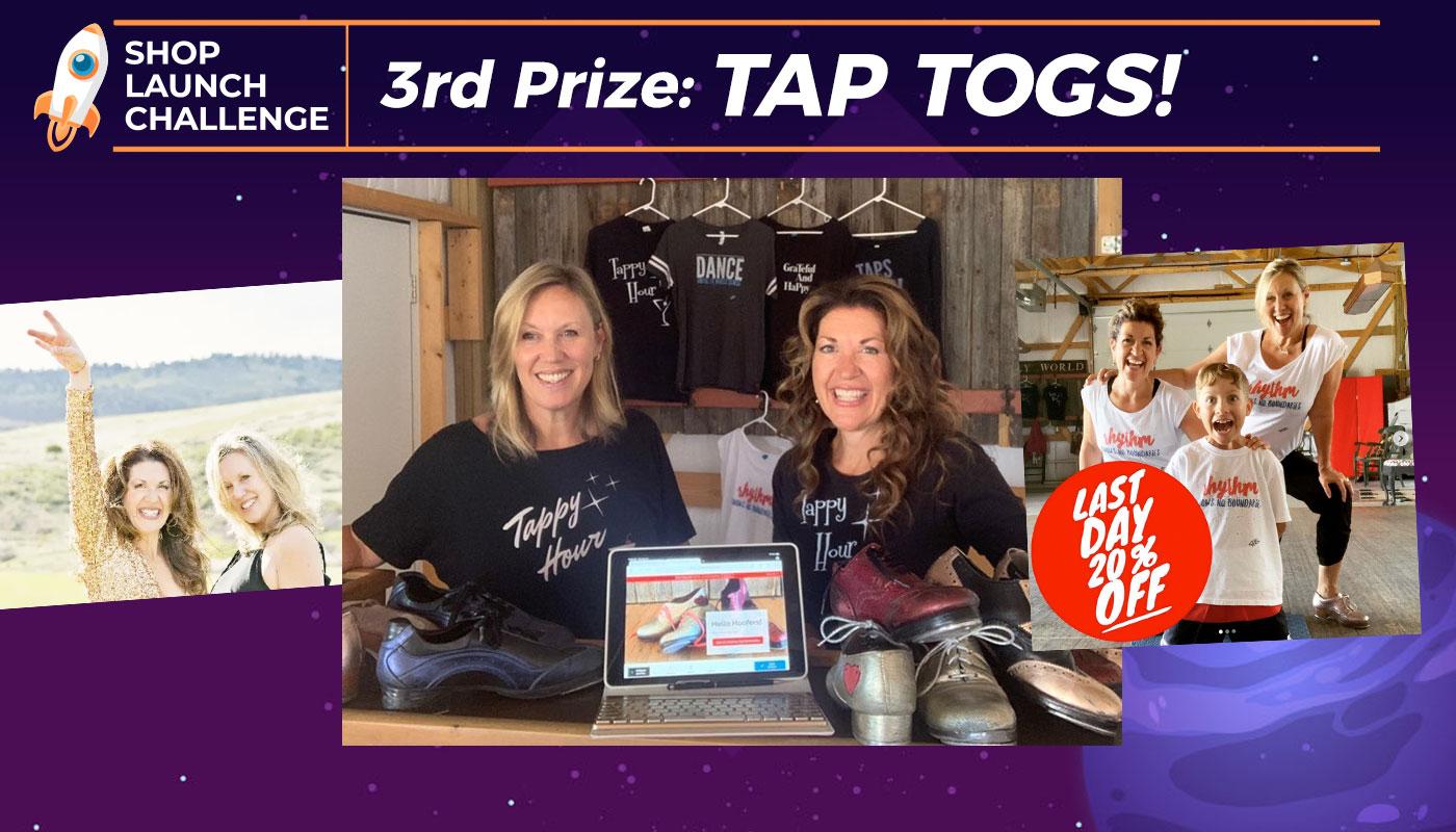 Shop Launch Challenge 3rd Place Winner